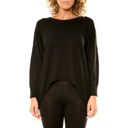 Textiel Dames Truien Vision De Reve Vision de Rêve Pull 12021 Noir Zwart