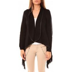 Textiel Dames Vesten / Cardigans Tcqb Gilet Andy Noir Zwart