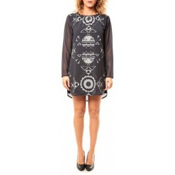Textiel Dames Tunieken Coquelicot Tunique CQTW14206 Noir Zwart
