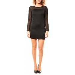 Textiel Dames Tunieken Coquelicot Tunique CQTW14223 Noir Zwart
