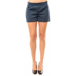 Textiel Dames Korte broeken / Bermuda's Coquelicot Short CQTW14617 Bleu Blauw