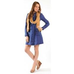 Textiel Dames Korte jurken Sud Express ROBE ROSINAL OCEAN Blauw