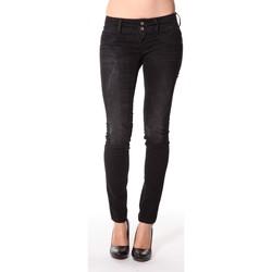 Textiel Dames Skinny jeans Meltin'pot Jeans Maryon D1489-UK010 Zwart