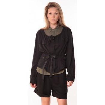 Textiel Dames Jacks / Blazers Sack's Veste Woman Noire 21150088 Zwart