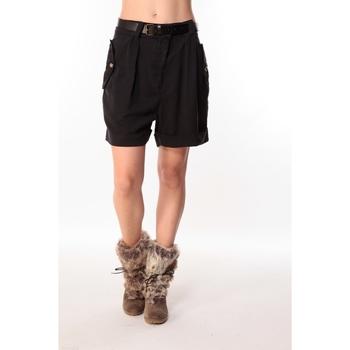 Textiel Dames Korte broeken / Bermuda's Sack's Short Dean 21115542 Noir Zwart