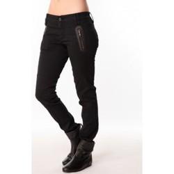 Textiel Dames Broeken / Pantalons Sack's Jeans Zip 2111397 Noir Zwart
