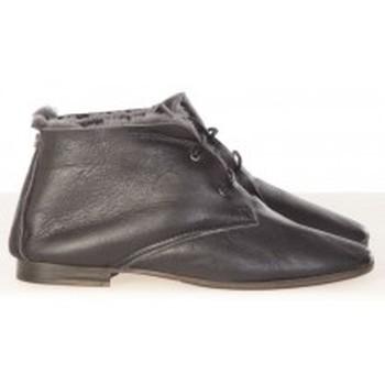 Schoenen Dames Enkellaarzen Koah Bottines Buri Black Zwart