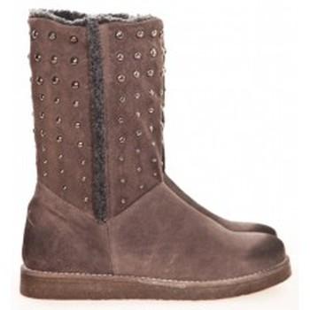 Schoenen Dames Laarzen Meline Boots NL 80  Marron Bruin