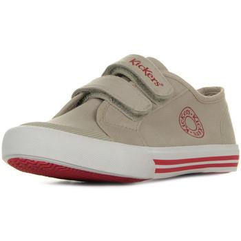 Schoenen Kinderen Lage sneakers Kickers Godille Beige