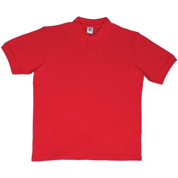 Textiel Heren T-shirts korte mouwen Sg SG50 Rood