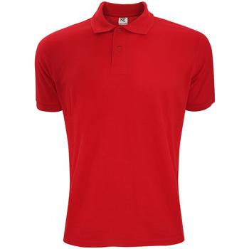 Textiel Heren Polo's korte mouwen Sg Polycotton Rood