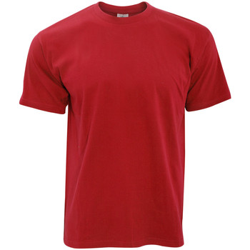 Textiel Heren T-shirts korte mouwen B And C TU004 Rood