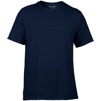 Textiel Heren T-shirts korte mouwen Gildan 42000 Marine Blauw