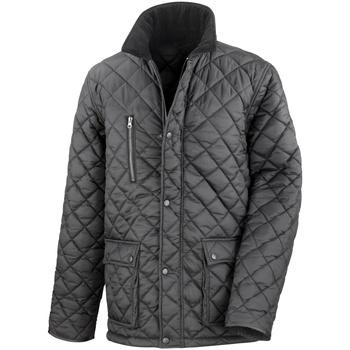 Textiel Heren Dons gevoerde jassen Result R196X Zwart