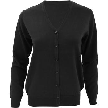 Textiel Dames Vesten / Cardigans Kustom Kit KK354 Zwart