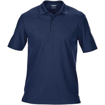 Textiel Heren Polo's korte mouwen Gildan 43800 Marine Blauw