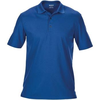 Textiel Heren Polo's korte mouwen Gildan 43800 Royaal Blauw