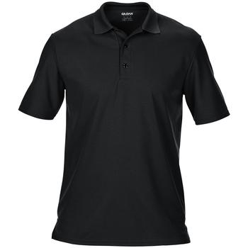 Textiel Heren Polo's korte mouwen Gildan 43800 Zwart