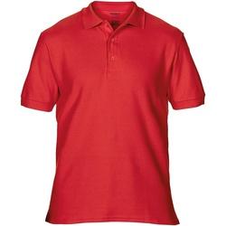 Textiel Heren Polo's korte mouwen Gildan Premium Rood