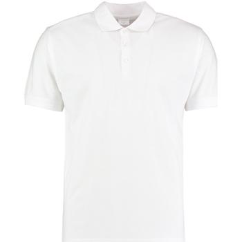 Textiel Heren Polo's korte mouwen Kustom Kit KK413 Wit