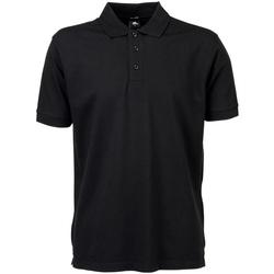 Textiel Heren Polo's korte mouwen Tee Jays TJ1405 Zwart