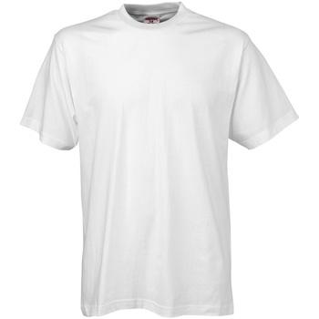 Textiel Heren T-shirts korte mouwen Tee Jays TJ8000 Wit