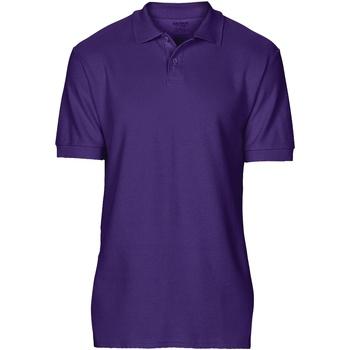 Textiel Heren Polo's korte mouwen Gildan 64800 Paars
