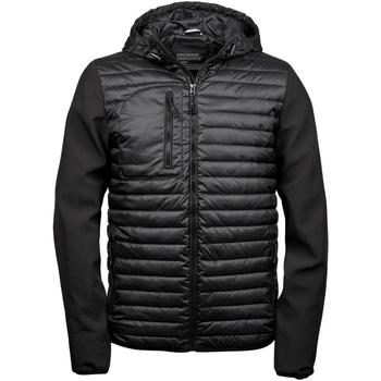 Textiel Heren Dons gevoerde jassen Tee Jays TJ9628 Zwart