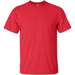 Textiel Heren T-shirts korte mouwen Gildan Ultra Rood