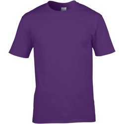 Textiel Heren T-shirts korte mouwen Gildan 4100 Paars