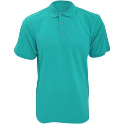 Textiel Heren Polo's korte mouwen Kustom Kit KK400 Turquoise