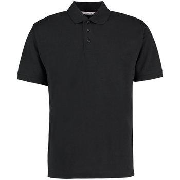 Textiel Heren Polo's korte mouwen Kustom Kit KK403 Zwart