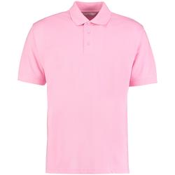 Textiel Heren Polo's korte mouwen Kustom Kit KK403 Roze