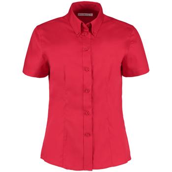 Textiel Dames Overhemden Kustom Kit KK701 Rood