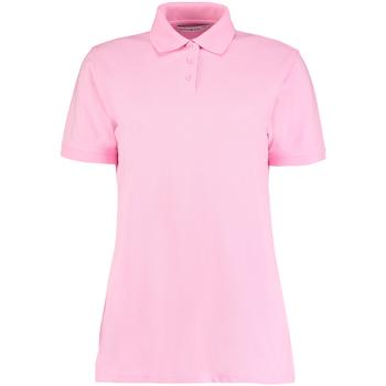 Textiel Dames Polo's korte mouwen Kustom Kit Klassic Roze