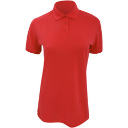Textiel Dames Polo's korte mouwen Kustom Kit Klassic Rood