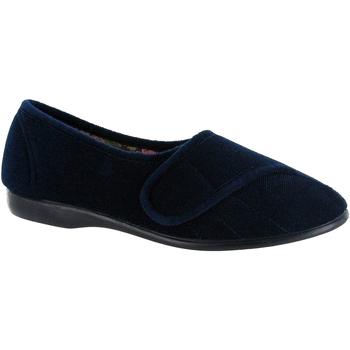 Schoenen Dames Sloffen Gbs Audrey Velcro Marine