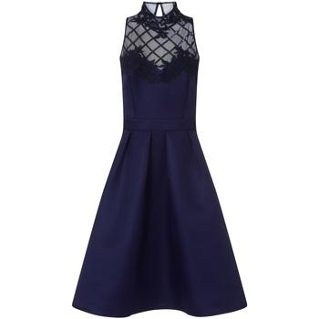 Textiel Dames Korte jurken Little Mistress  Marine