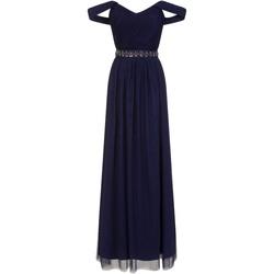 Textiel Dames Lange jurken Little Mistress  Marine
