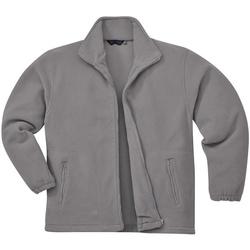 Textiel Heren Fleece Portwest Argyll Grijs
