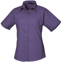 Textiel Dames Overhemden Premier PR302 Paars