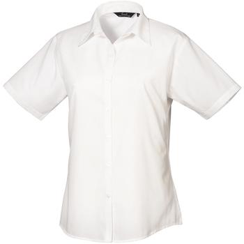 Textiel Dames Overhemden Premier PR302 Wit