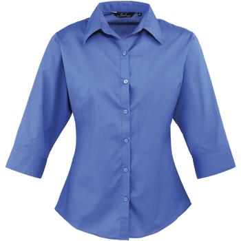 Textiel Dames Overhemden Premier Poplin Koninklijk