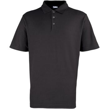 Textiel Heren Polo's korte mouwen Premier Stud Zwart