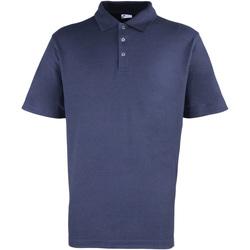 Textiel Heren Polo's korte mouwen Premier Stud Marine