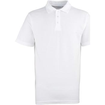Textiel Heren Polo's korte mouwen Premier Stud Wit