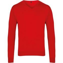Textiel Heren Truien Premier PR694 Rood