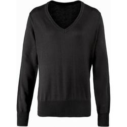 Textiel Dames Truien Premier PR696 Zwart