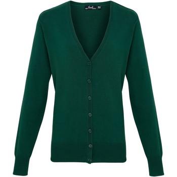 Textiel Dames Vesten / Cardigans Premier Button Through Fles