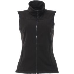 Textiel Dames Vesten / Cardigans Regatta RG184 Zwart